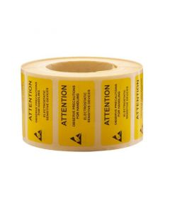 ESD Labels 37 x 75mm