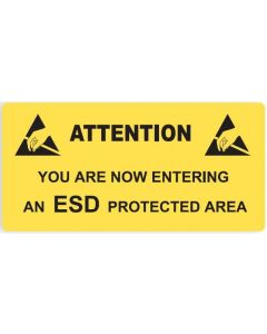 ESD Sign Entering an ESD Protected Area