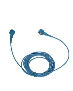 ESD Straight Cord 10mm snap to 10mm snap