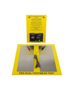 ESD Wrist Strap and Dual Footwear Test Station