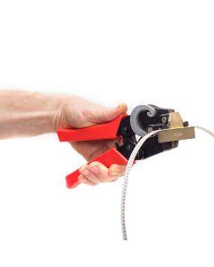 SMT component reel splicing tool Single shim splice tool