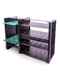PCB Rack with 42 slots