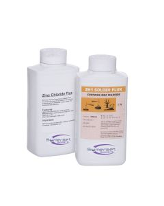 Zinc chloride is also known as Bakers fluid. A great flux for soldering most metals.