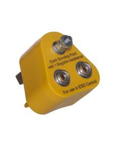 Earth Bonding Plug with 2 x 10mm studs plus M5 Post