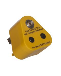 Earth Bonding Plug with a 10mm stud