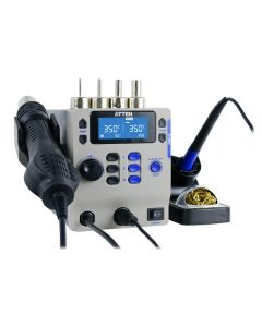 A great double-channel soldering and rework station from ATTEN.