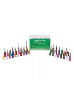 A comprehensive assortment of dispensing needles in the QK-NSK kit